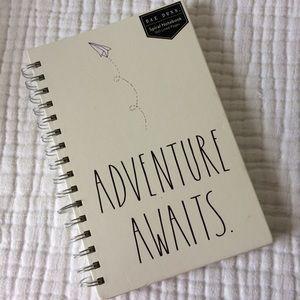 Rae Dunn Adventure Awaits spiral notebook